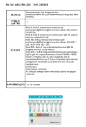 DG Gel ABO/RH (2D)